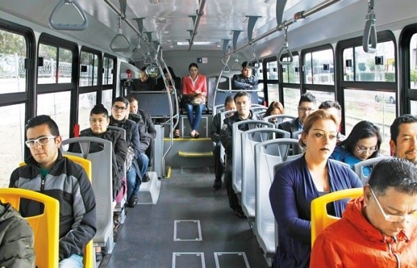 Accidentes de trafico en transportes publicos