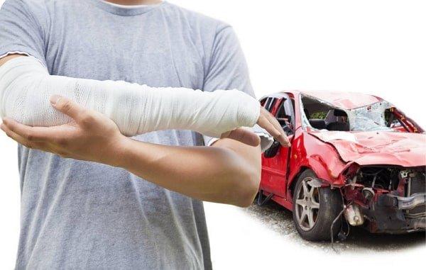Que daños podeis reclamar si resulto lesionado en un accidente de trafico